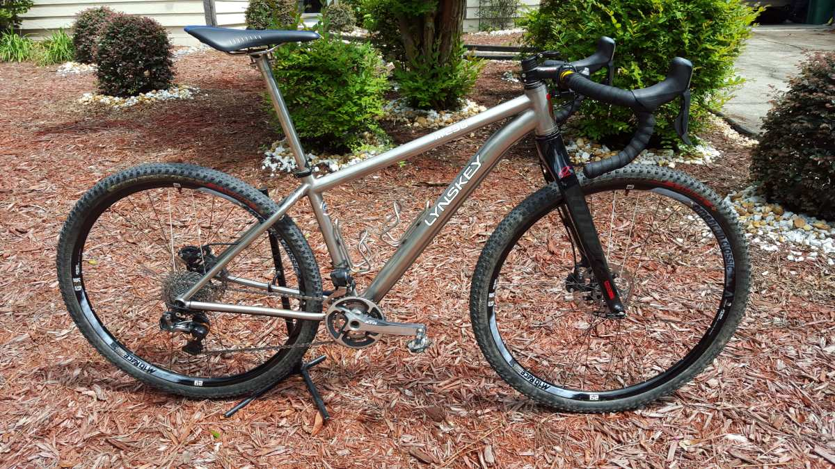 lynskey titanium monster cross bike