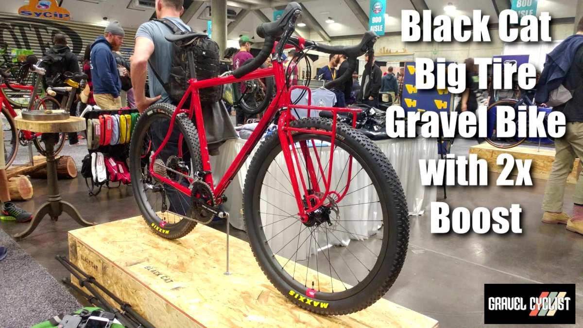 black cat bicycles gravel bike nahbs 2019