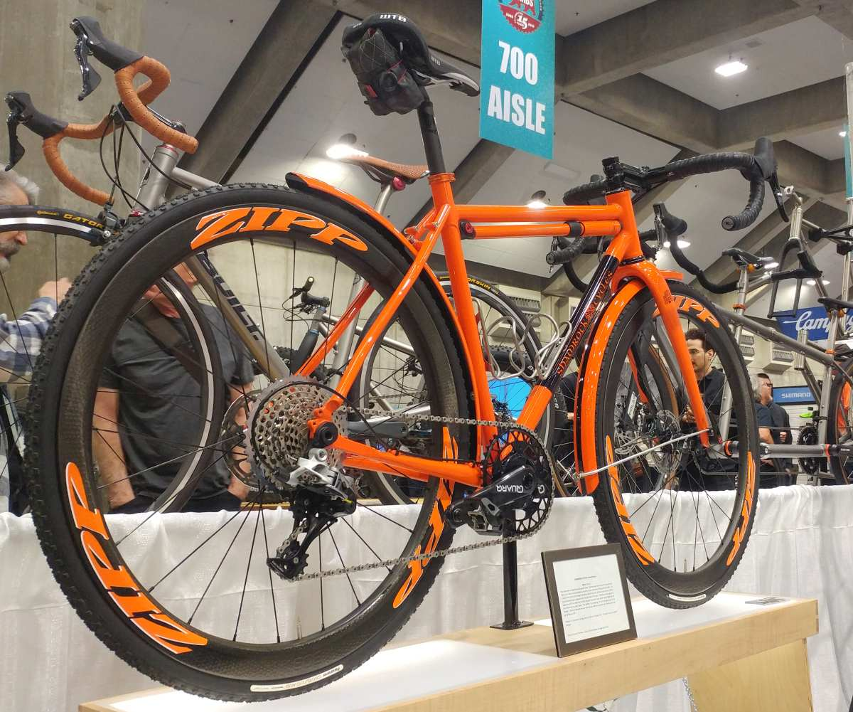 shamrock cycles gravel racer nahbs 2019