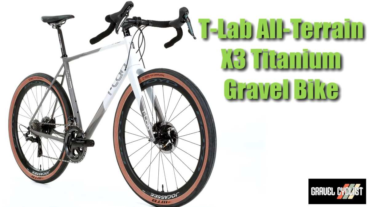 t-lab x3 gravel adventure bike nahbs 2019