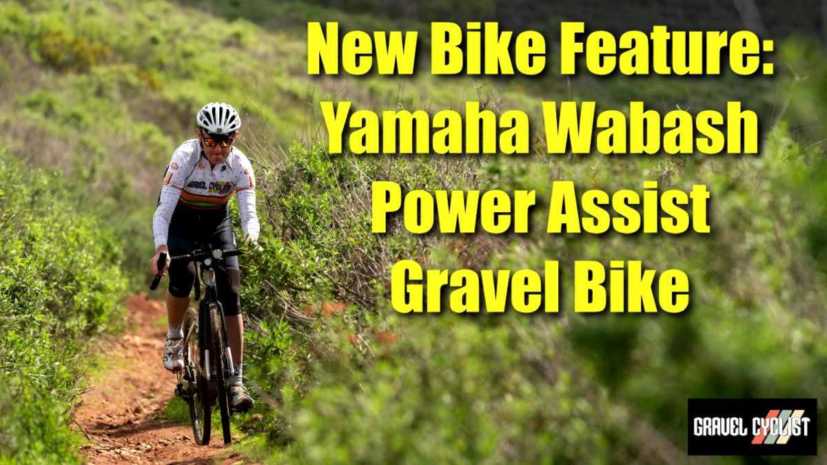 yamaha wabash power assist gravel bike