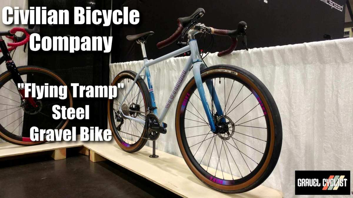 civilian bikes flying tramp gravel bike