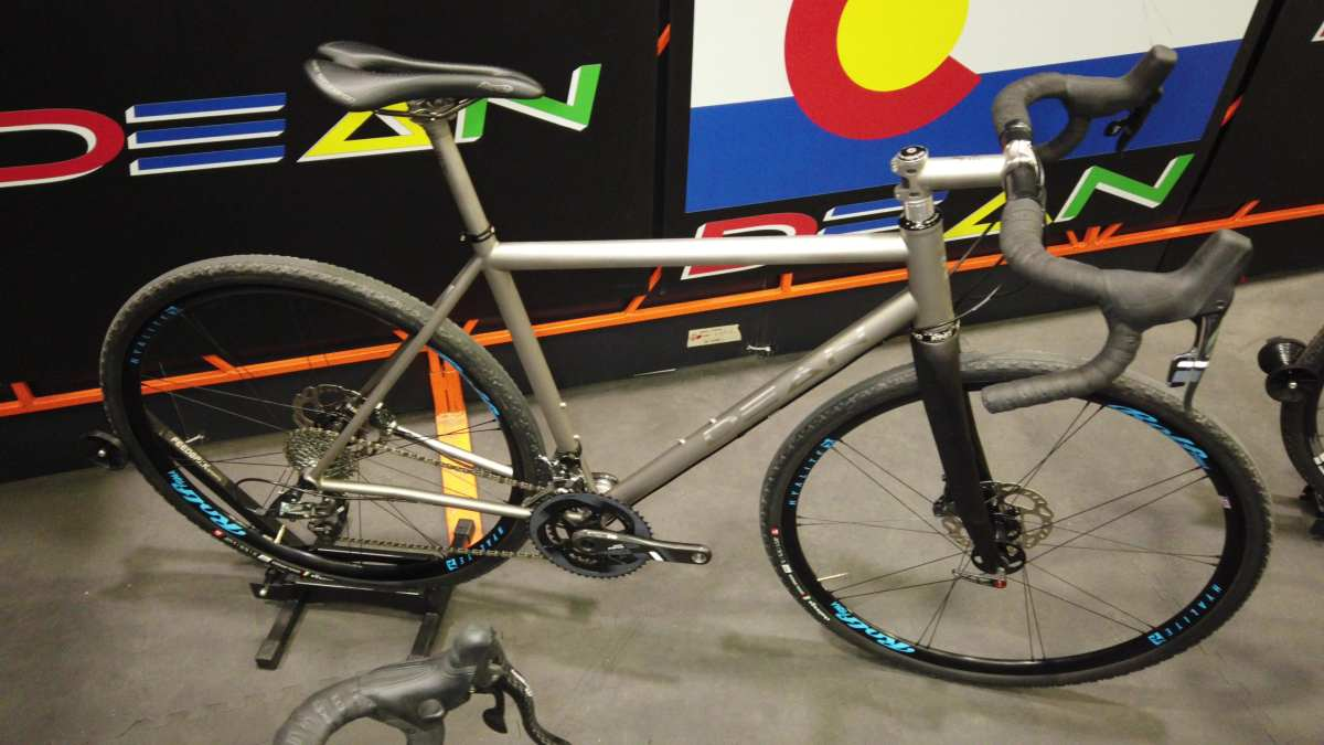 dean titanium gravel and cyclocross bike nahbs