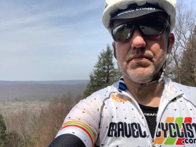 cycling pennsylvania rothrock state park