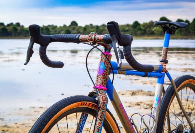 mooro cycles kwibidgi titanium gravel bike nahbs