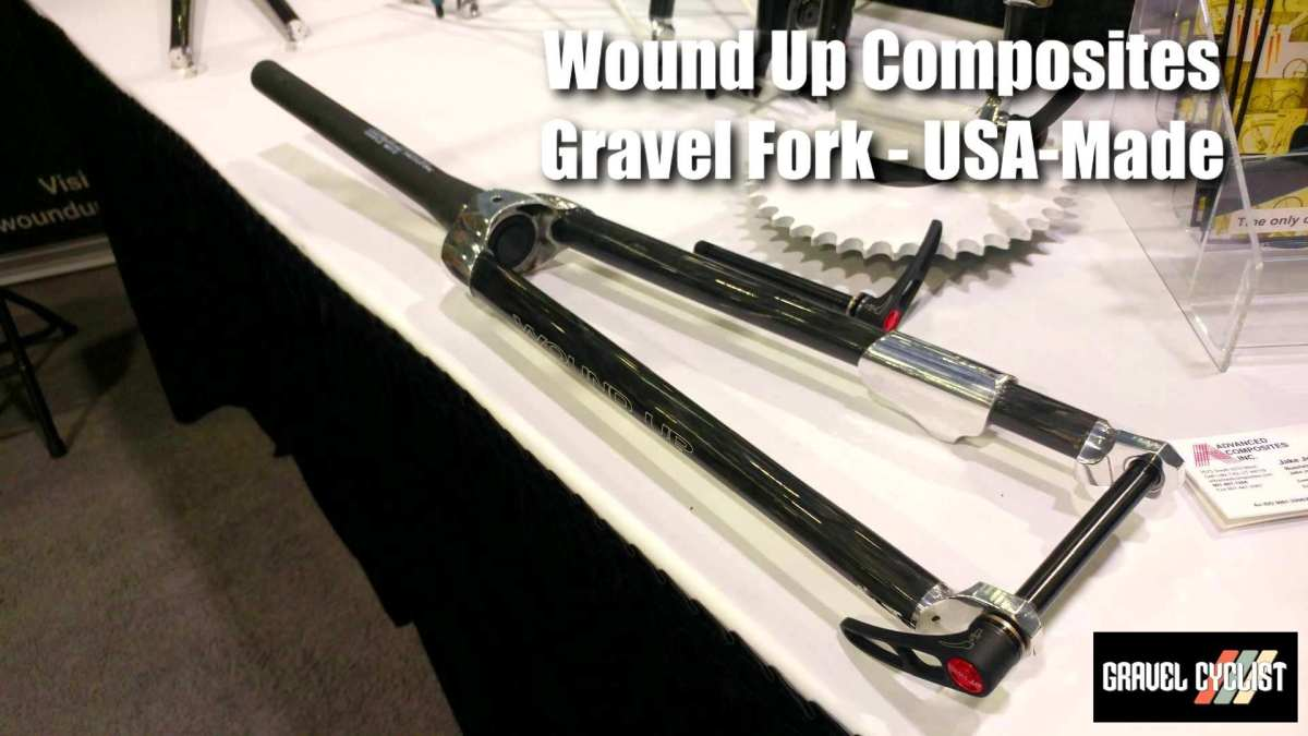 wound up composites tapered gravel fork