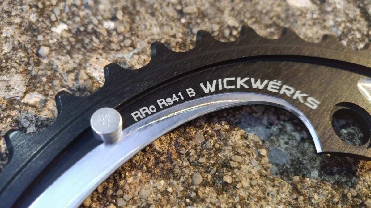 chainrings for 2x cranksets on gravel bikes