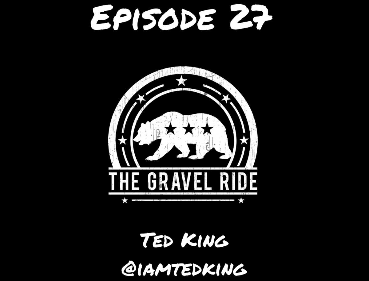 ted king podcast gravel ride