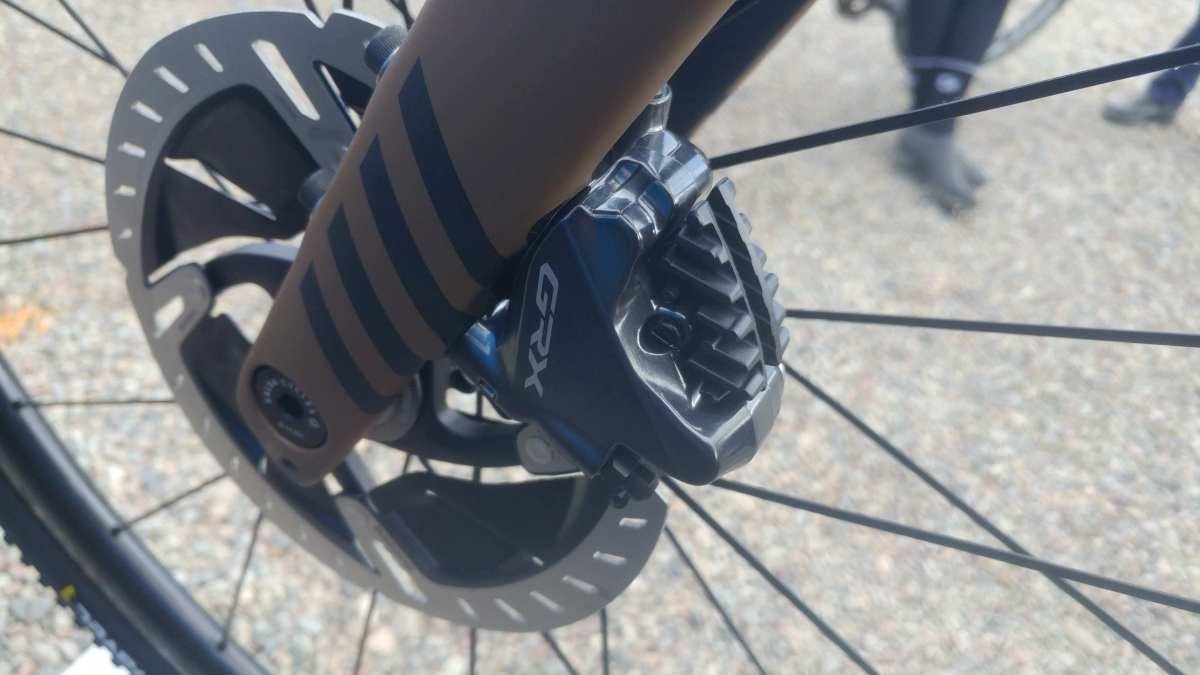 shimano grx 1x video demonstration