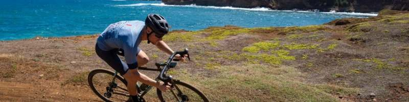 hawaii gravel cycling