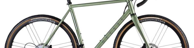 repete verde steel gravel bike