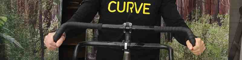 curve cycling walmer handlebar ultra wide dropbar