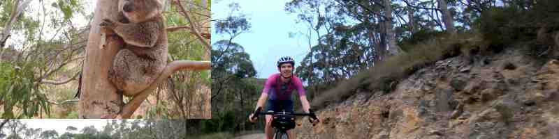 gravel cycling in australia