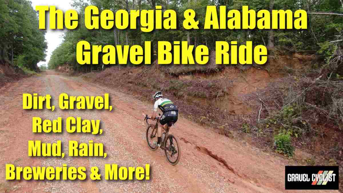 georgia alabama gravel bike ride providence canyon